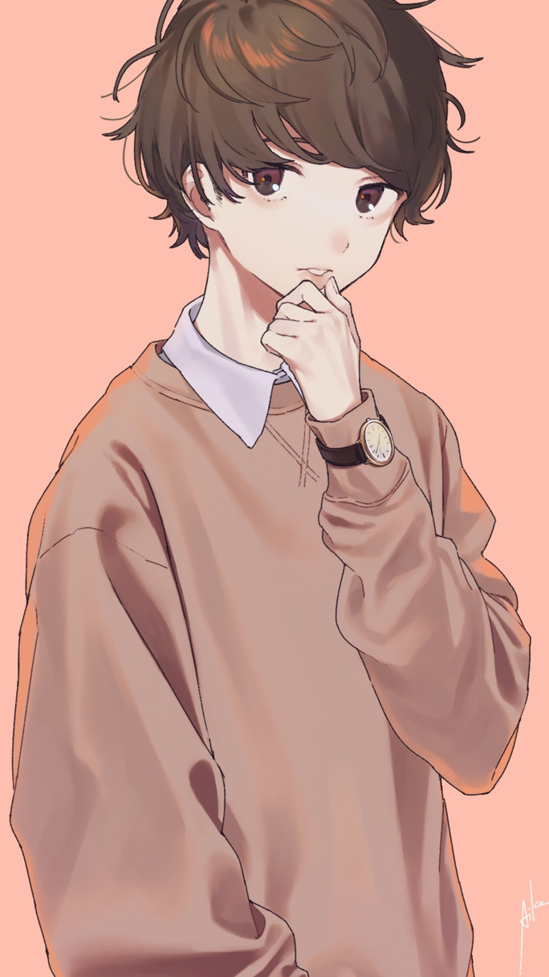 Cute Anime Boy Wallpaper Iphone