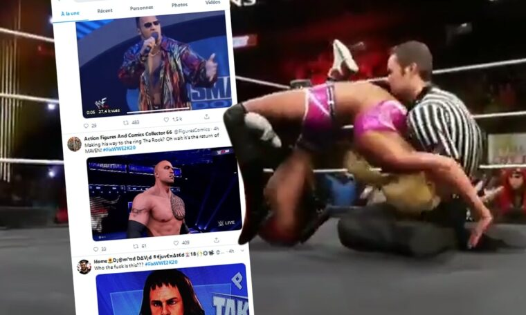 #FixWWE2K20 Is Trending On Twitter (w/Glitch Videos)