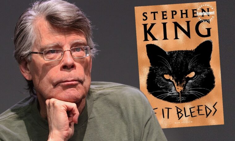 Watch Stephen King Read The First Chapter of His New Book 'If It Bleeds'
