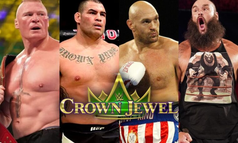 WWE Announce Lesnar Vs. Velasquez and Fury Vs. Strowman For Crown Jewel (w/Video)