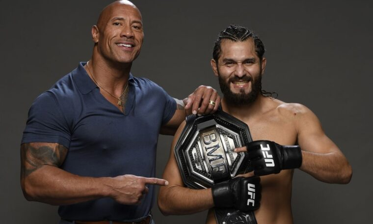 The Rock Presents The 'BMF' Belt At UFC 244 (w/Video)