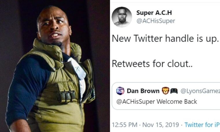 ACH (Formerly Jordan Myles) Posts Wish List Of Potential Opponents