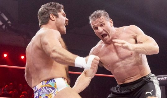 Joey Ryan Dick Flips Ken Shamrock on IMPACT (w/Video)