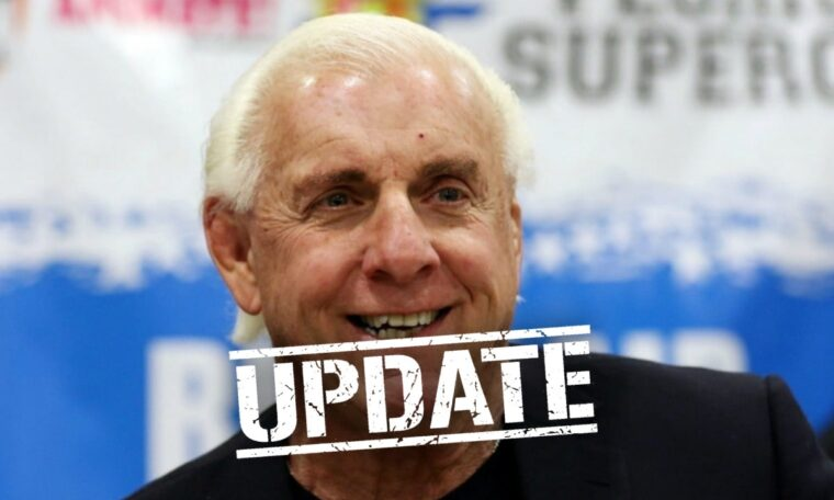 Update On Ric Flair Getting Physical In WWE