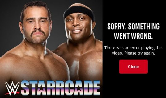 WWE Network Crashes During Starrcade Special