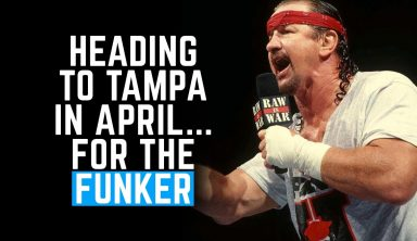 Heading To Tampa In April… No, Not For That Show… For The Funker