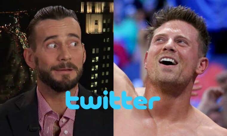 CM Punk Posts Offensive Tweet To The Miz And Then Deletes It