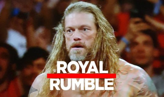 Edge Returns To The Ring At The Royal Rumble