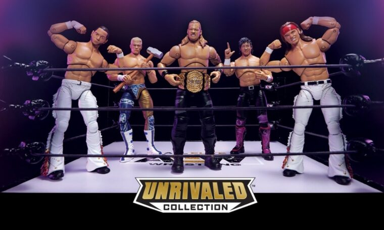 AEW Reveal Details Of First-Ever Toy Line Series