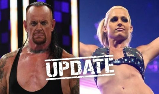 The Undertaker Comments On Wife Michelle McCool's WWE.com Snub
