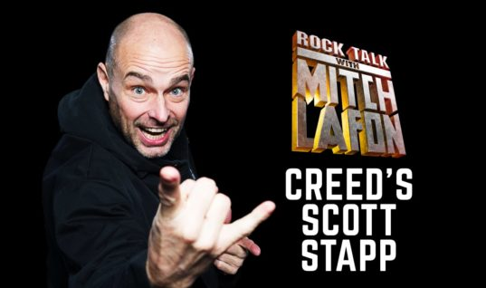 Rock Talk With Mitch Lafon: Creed Singer Scott Stapp Interview