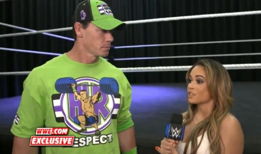 WWE Remove John Cena Video After He Refers To The Fiend As Husky Harris In A Mask (w/Video)