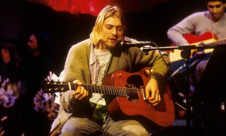Kurt Cobain's MTV Unplugged Guitar Going Up For Auction