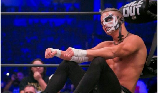 AEW's Darby Allin Posts Video Jumping Off Balcony (w/Video)