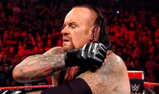 "The Undertaker Announces His Retirement By Saying ""This Time The Cowboy Really Rides Away"""