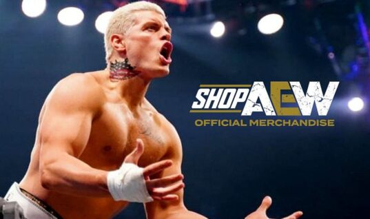 AEW Selling Cody Rhodes Temporary Tattoo Based Off His Neck Piece