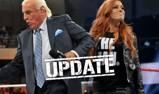 Update On Ric Flair's 'The Man' Trademark Dispute With WWE