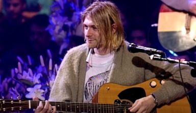 Kurt Cobain's MTV Unplugged Guitar Sells For Enormous Amount