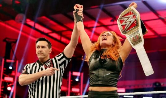 Becky Lynch Pitched Losing Raw Women's Championship Before She Knew She Was Pregnant