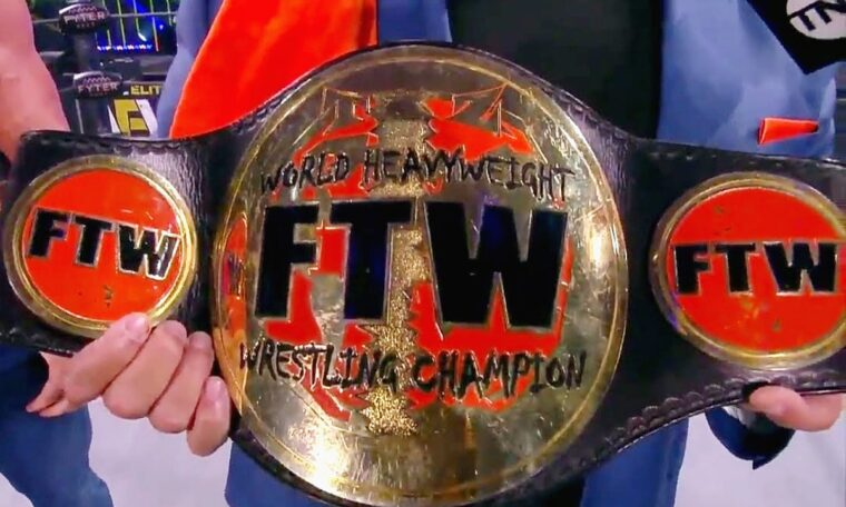Taz Brings FTW Heavyweight Championship To All Elite Wrestling ...