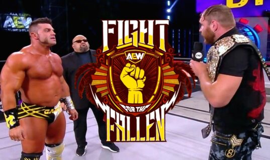 Jon Moxley Vs. Brian Cage Moved To Fight For The Fallen
