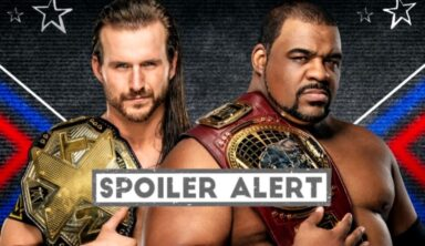 NXT Wrestler Spoils Result Of Pre-Taped Adam Cole Versus Keith Lee Winner Takes All Match