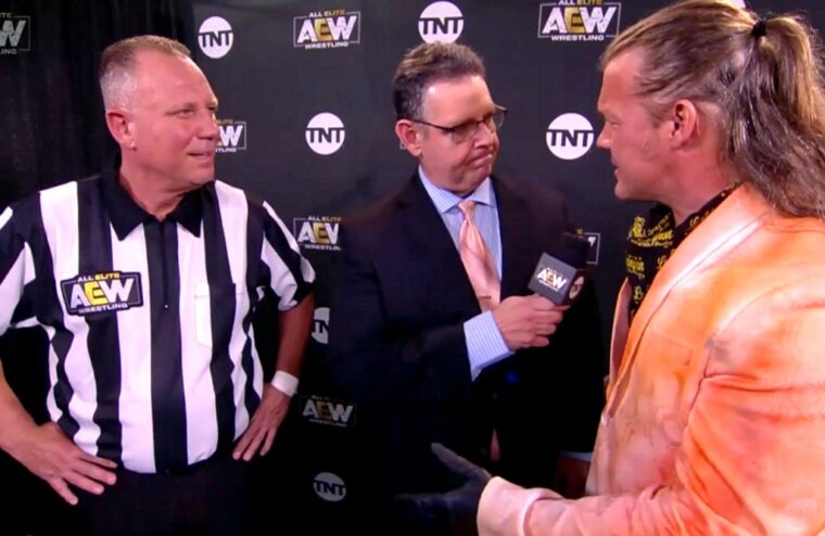 Former WWE Referee Mike Chioda Makes AEW Debut (w/Video)
