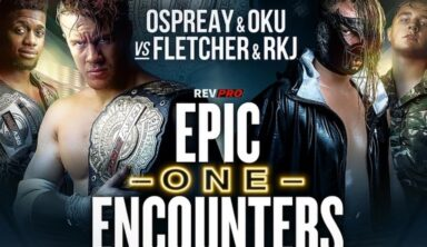 """COMPETITION: Win A FITE Code To Watch """"Epic Encounters One"""" Ft. Will Ospreay & Jamie Hayter"""