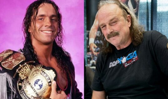 Bret Hart Fires Back At Jake Roberts For Comments He Made About Him As World Champion