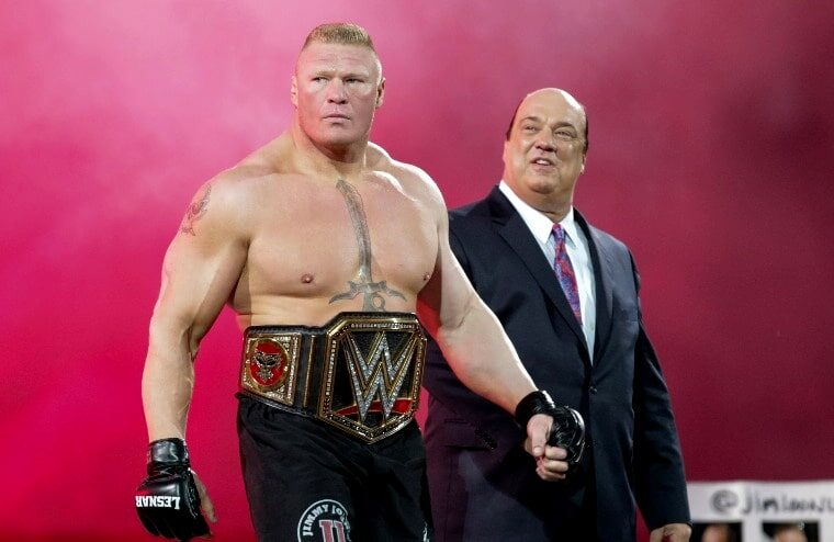 Paul Heyman Discusses Losing His Raw Creative Role And A Lesnar WWE Return