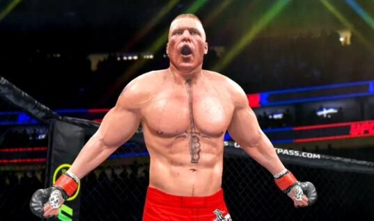 "Brock Lesnar Calls UFC ""Home"" In New Video Game Trailer"
