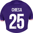 Jersey by Federico Chiesa.