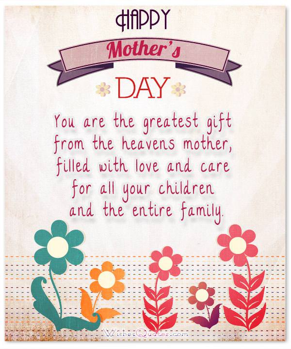Mother Day Love Poems 5