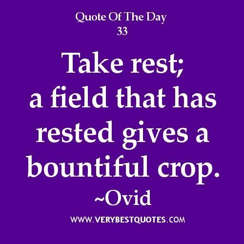 Take A Rest Quotes 6