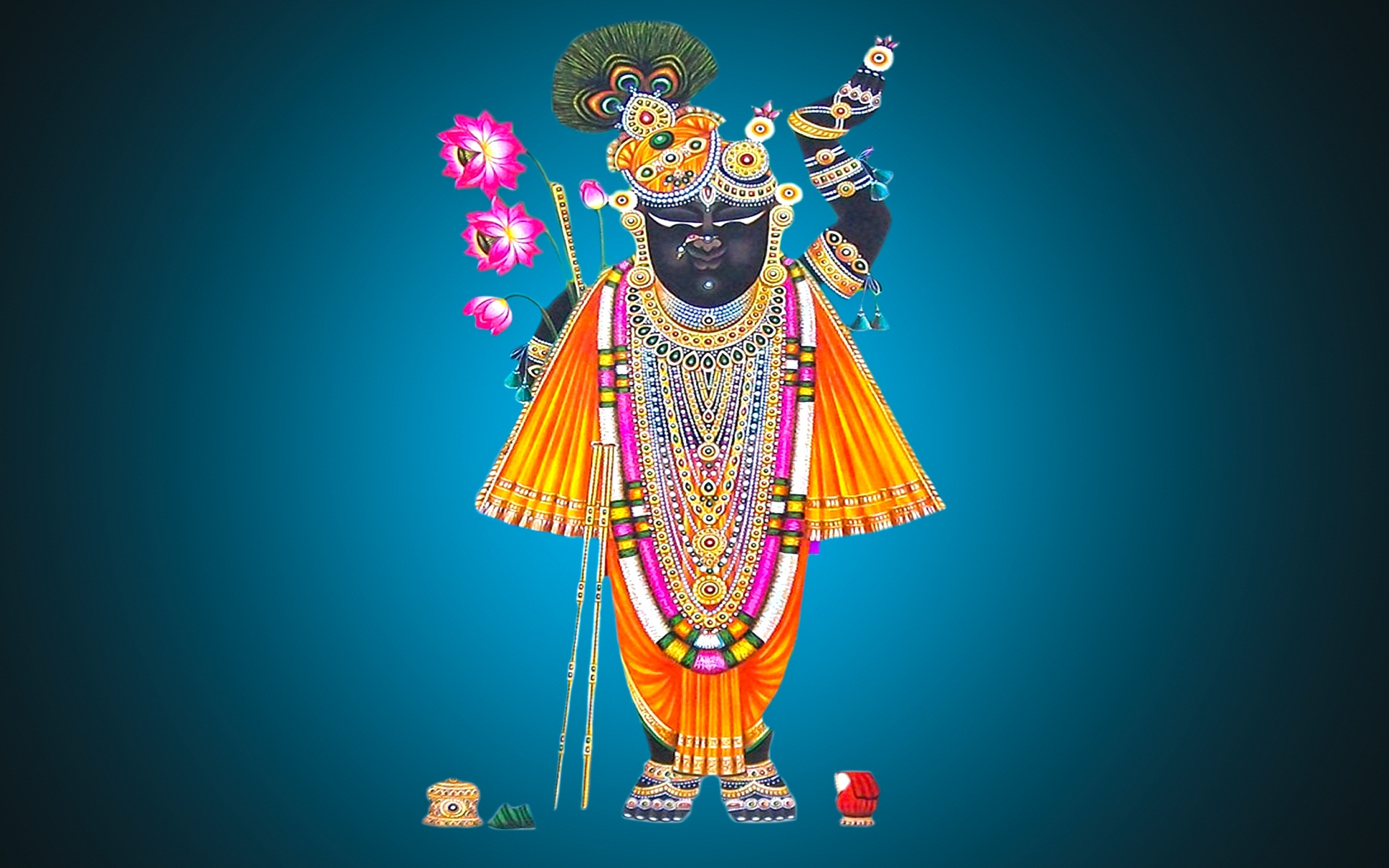 Shrinathji god wide HD wallpapers