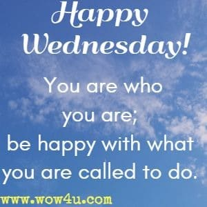 Wednesday Inspirational Quotes 6