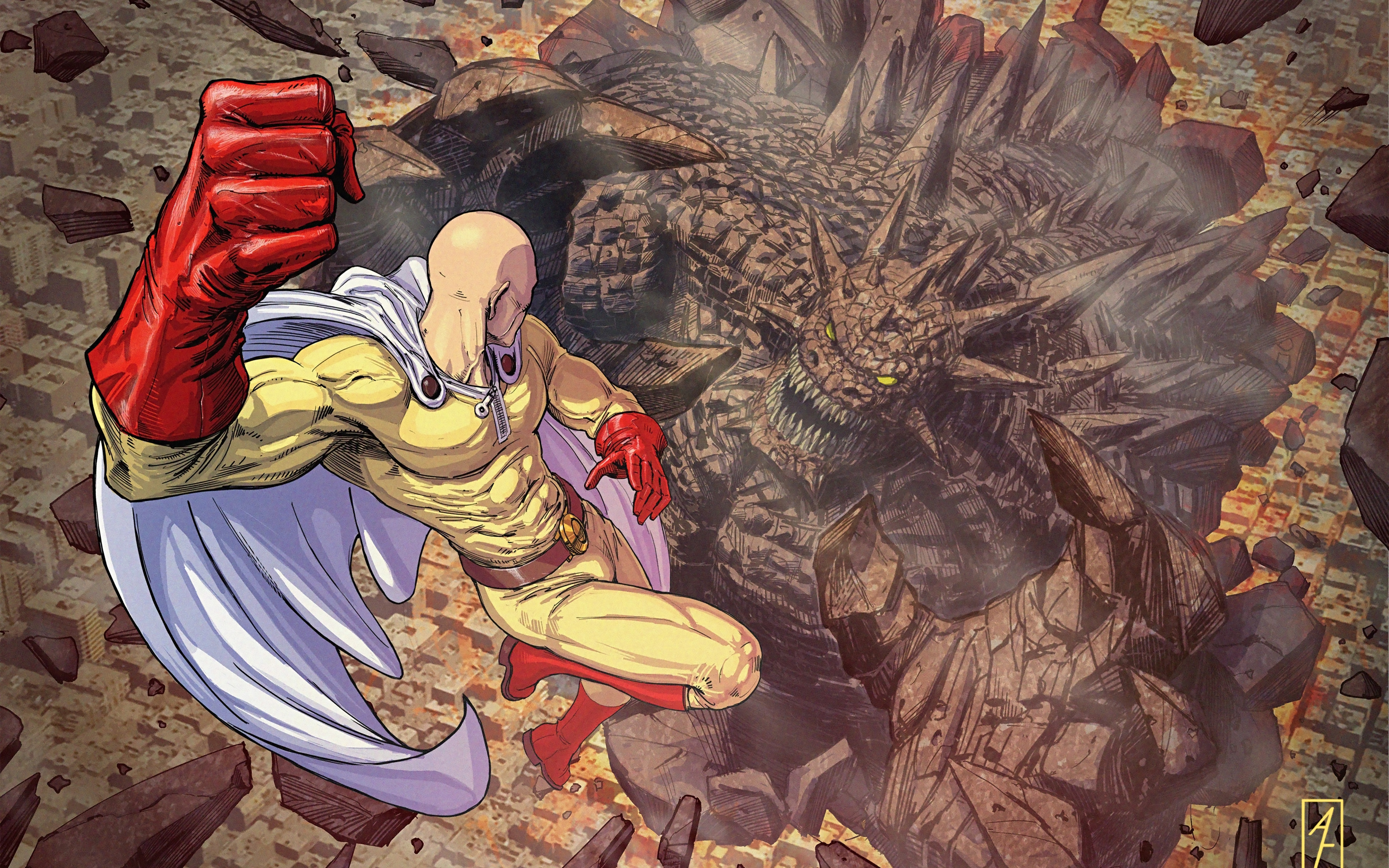 Anime Wallpaper One Punch Man