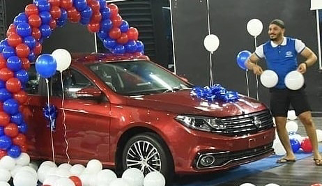 """#BBNaija: TBoss trends after she """"shaded"""" Nengi while celebrating Ozo as he wins a new car"""