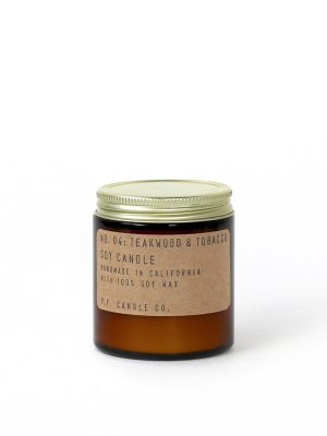 PF Candle CO No.04 Teakwood & Tabacco