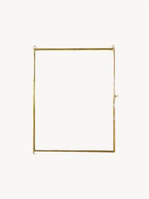 Doing Goods Flat Frame Polaroid Gold