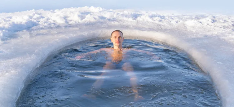Ice baths, immunity and inner peace
