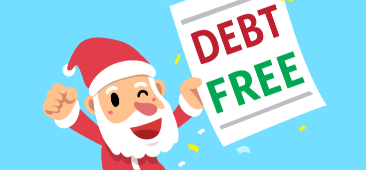 All I want for Christmas is to be debt free: survey's surprise results