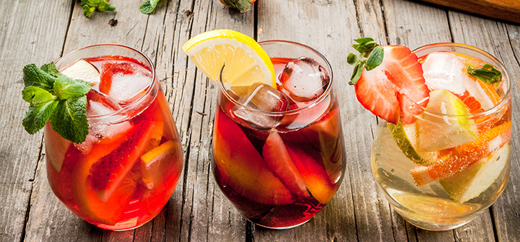 Non-alcoholic drinks for summer