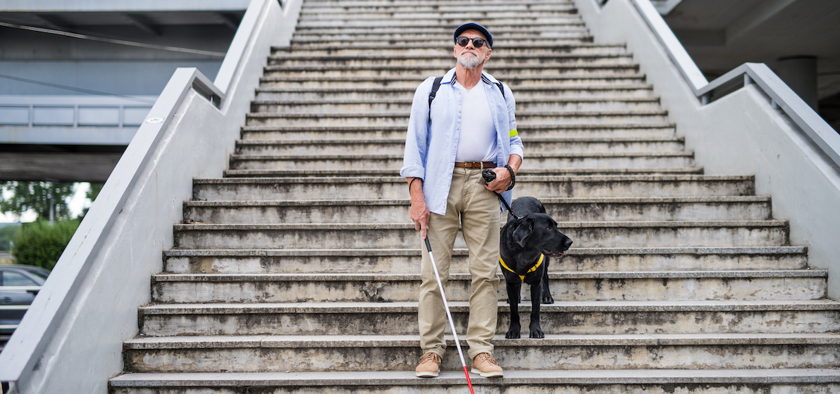 Are legally blind pensioners entitled to more money?
