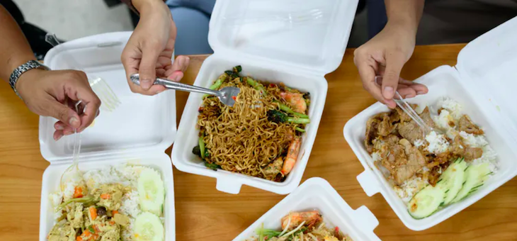 The takeaway food that hurts the planet most