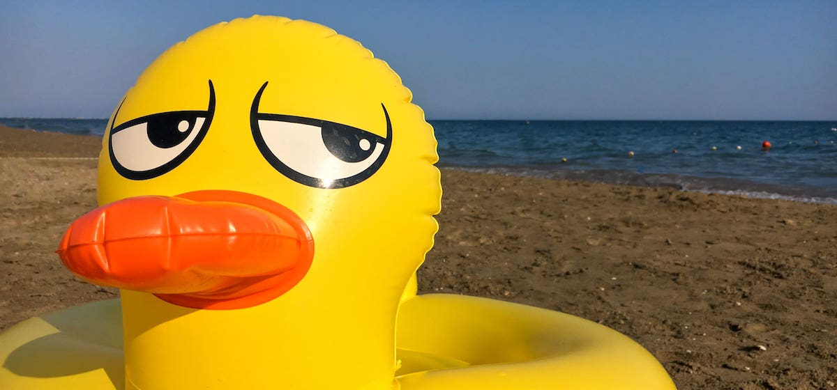 Nine things to please stop doing at the beach
