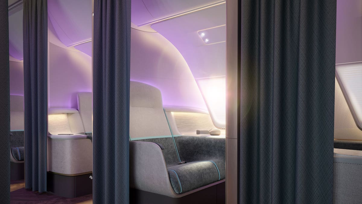 Hope this new cabin design will make air travel in a pandemic safer