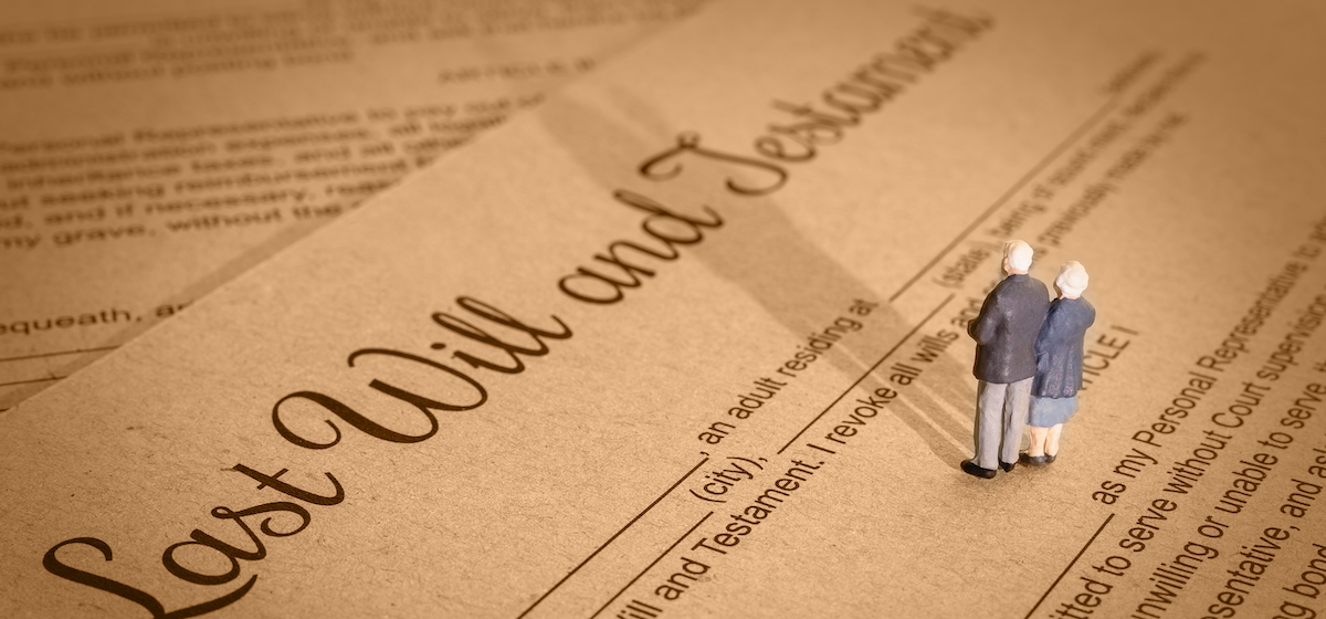Common mistakes when writing your will