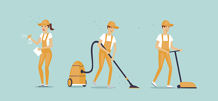 Thinking of hiring a cleaner? Here's what you need to know