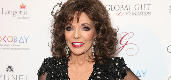 Life lessons from the inimitable Joan Collins
